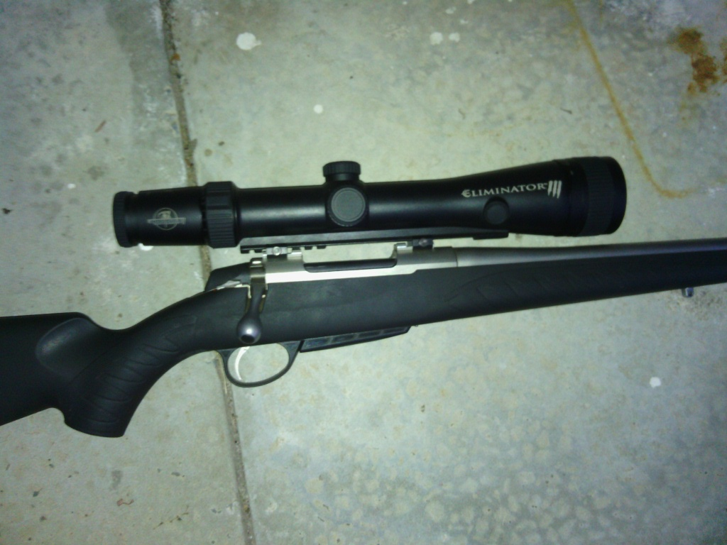 Burris Eliminator III on a Sako A7 .243Win