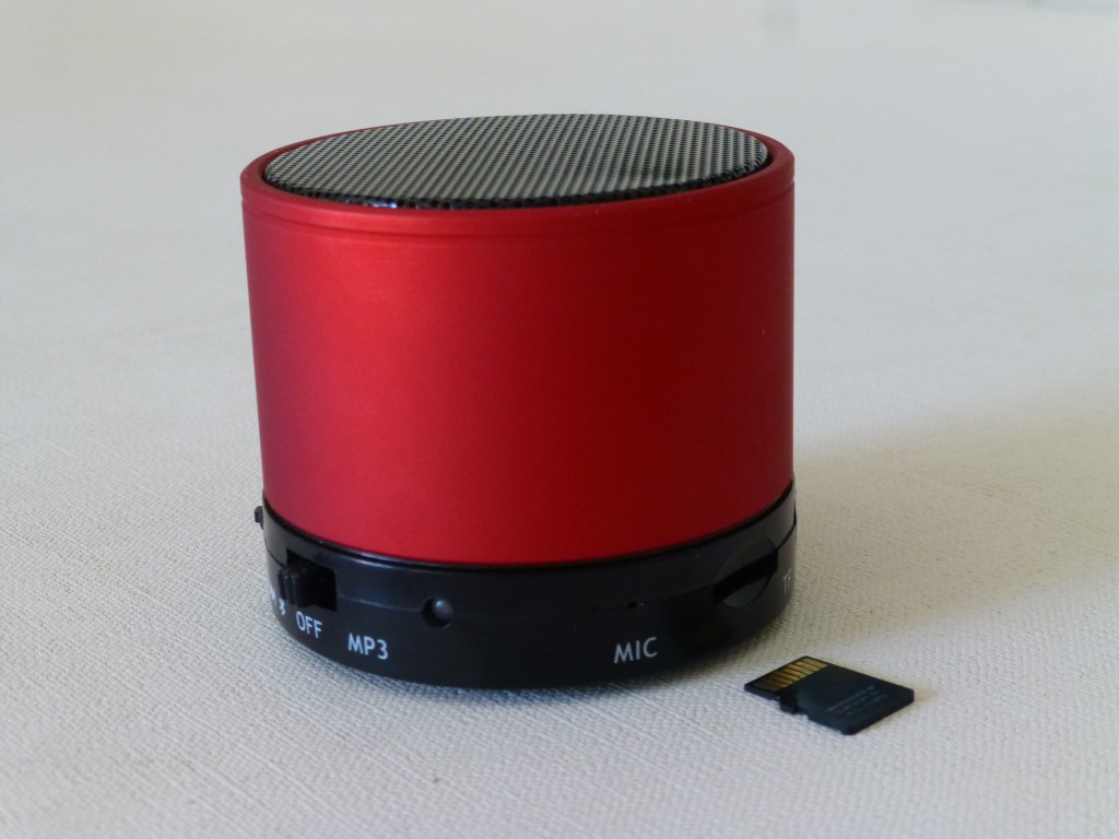 Portable mp3 speaker