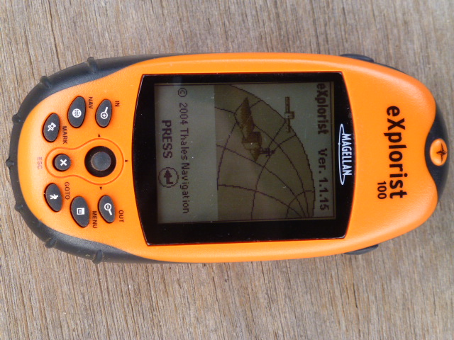 GPS for Recording Position and Distance Travelled